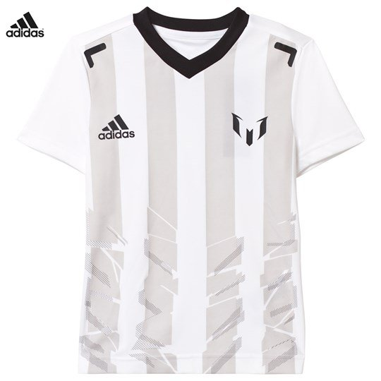 adidas Performance White Messi Icon Tee White