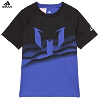 adidas Blue Messi Graphic T-shirt Blue