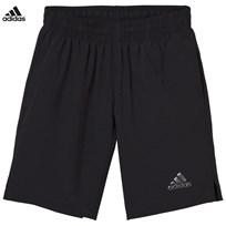 adidas Black Woven Shorts Black