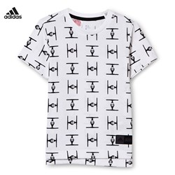 adidas Performance Star Wars T-shirt Vit