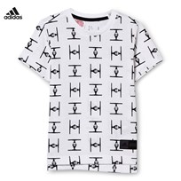 adidas White Star Wars Tee White