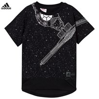 adidas Black Star Wars Tee Black