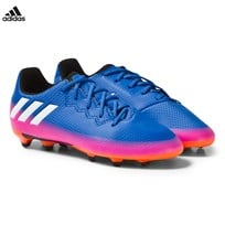 adidas Blue Fade Messi 16.3 Firm Ground Football Boots Blue
