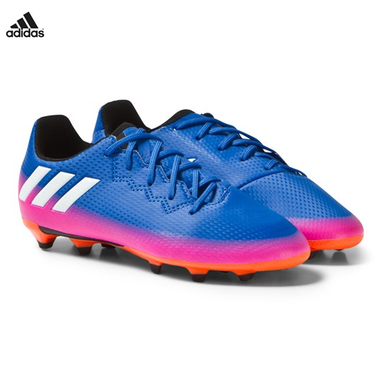 adidas Performance Blue Fade Messi 16.3 Firm Ground Football Boots Blue