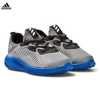 adidas Alphabounce Infants Trainers Grey Black