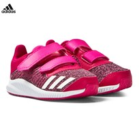 adidas Infants FortaRun Trainers Pink SHOCK PINK
