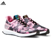 adidas Pink RapidaRun Uncaged Trainers CORE BLACK