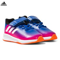 adidas Blue Infants Messi RapidaTurf Trainers Blue