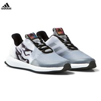 adidas Black and White Kids Star Wars Trainers CORE BLACK