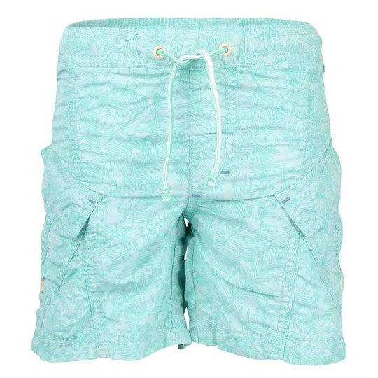 Mini A Ture Ancher Shorts Green