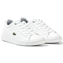 Lacoste White Carnaby Court Trainers 042