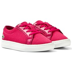 Lacoste Dark Pink Classic Textured Infant Court