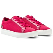 Lacoste Dark Pink Classic Textured Junior Court 1S9