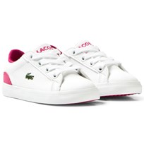 Lacoste White Lerond Infant Twill Canvus Court B53