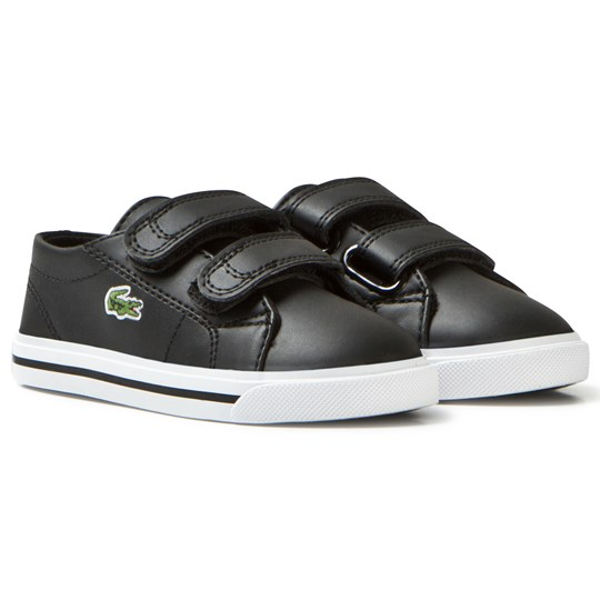 Lacoste Black Marcel Synthetic Leather Infant Court 02H