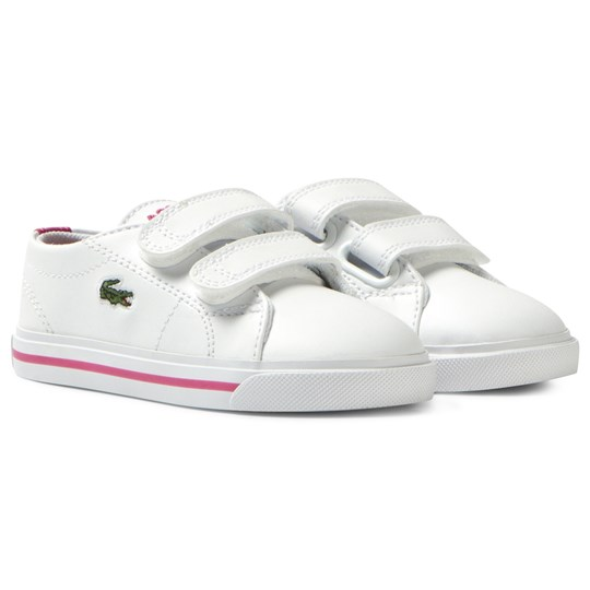 Lacoste White Marcel Infant Court B53