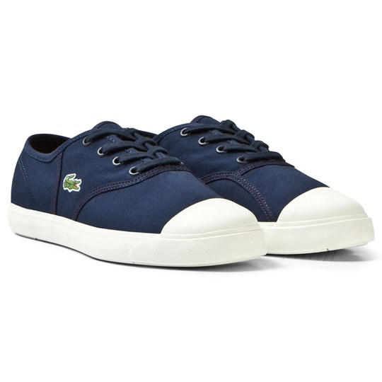 Lacoste Navy Canvas Sneaker Junior 003