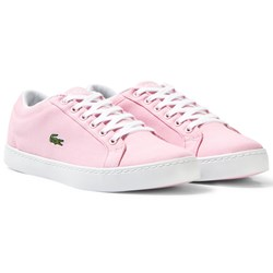 Lacoste Light Pink Straight Set Sneaker Junior