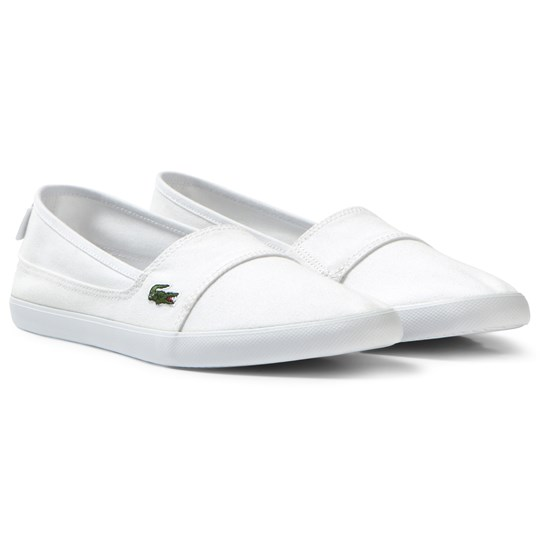 Lacoste White Marice Slip On 001