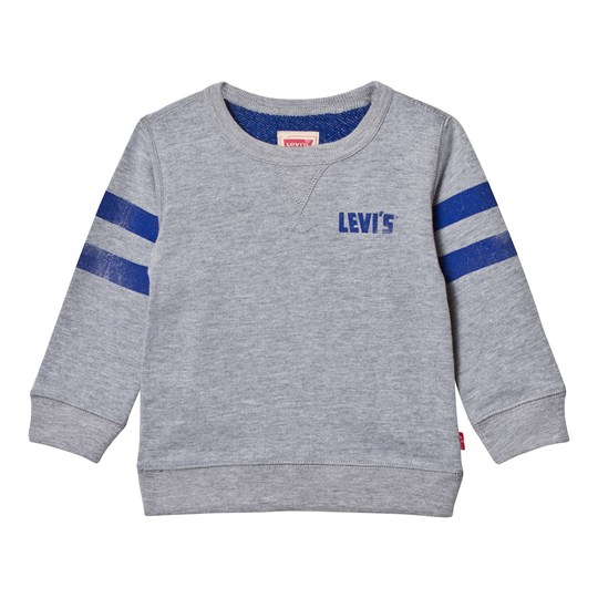 Levis Kids Grey Logo Front and Back Print Sweatshirt 20
