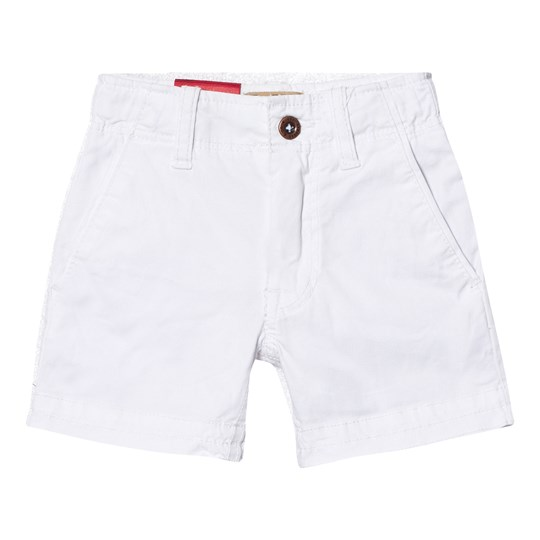 Levis Kids White Chino Shorts 1