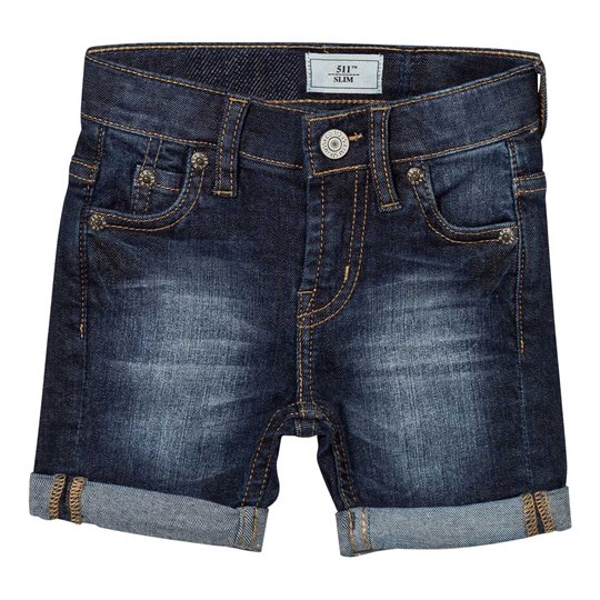 Levis Kids Mid Wash 511™ Slim Bermuda Shorts 46