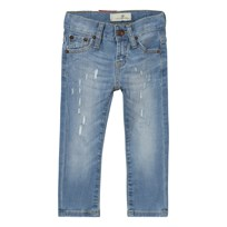 Levis Kids Light Wash 520™ Extreme Taper Distressed Jeans 46