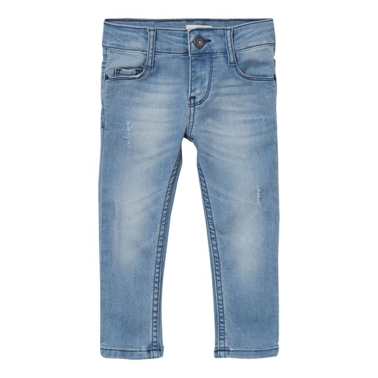 Levis Kids Blue Over Dyed Distressed 711 Skinny Jean 44