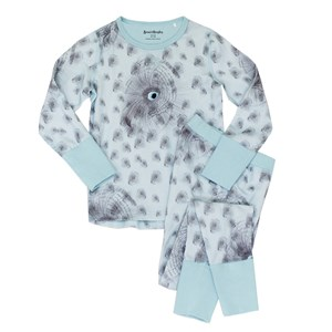 Image of Beau & Rooster Night Owl Pyjamas Canal Blue 110/116 cm (3031532049)