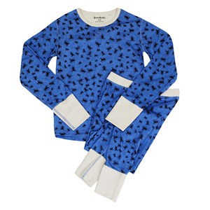 Image of Beau & Rooster Bugs Pyjamas Federal Blue 110/116 cm (3031527285)