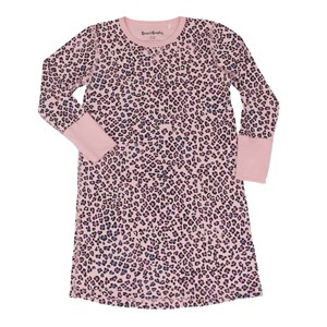 Image of Beau & Rooster Pink Leopard Nightdress Coral Blush 122/128 cm (3031532507)