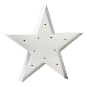 Image of Sweetlights Star Mini Marquee Lights White (3056049265)