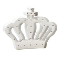 Sweetlights Princess Crown Mini Marquee Lights White White