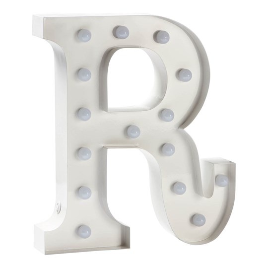 Sweetlights Letter R Mini Marquee Lights White White