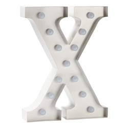 Sweetlights Letter X Mini Marquee Lights White