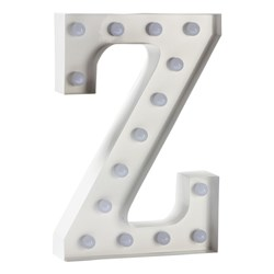 Sweetlights Letter Z Mini Marquee Lights White
