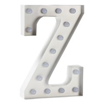 Sweetlights Letter Z Mini Marquee Lights White White