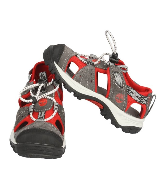 Belknap Sandal Grey/Red Small