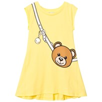 Moschino Kid-Teen Yellow Bear Bag Print Dress 50797