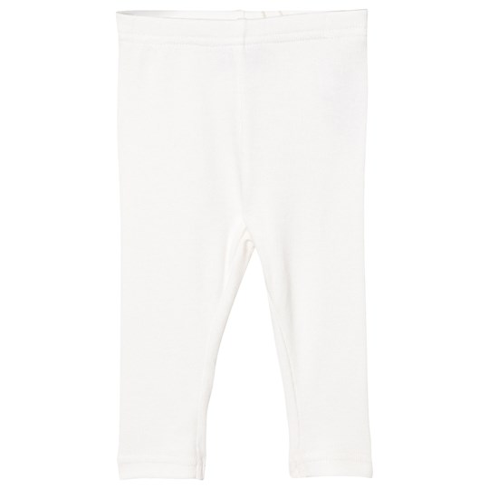 Wheat Rib Leggings Elfenbensvit Ivory