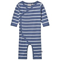 Wheat Frill Baby Bodysuit Moonlight Blue moonlight blue