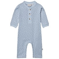 Wheat Placket Baby Bodysuit Ashley Blue Ashley Blue