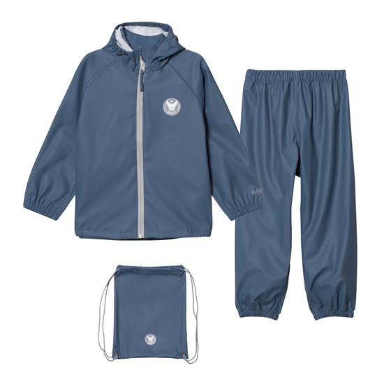 Wheat Charlie Rain Set Blue Blue