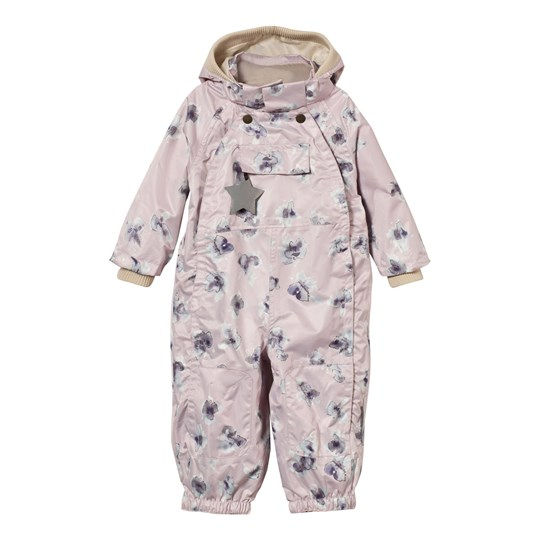 Mini A Ture Wisto M Coverall Violet Ice Violet Ice