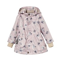 Mini A Ture Wiebke K Jacka Aquarelle Flower All-Over Print Violet Ice