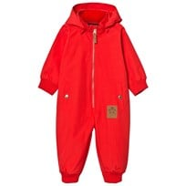 Mini Rodini Pico Coverall Red Red