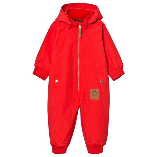 Mini Rodini Pico Coverall Red Punainen