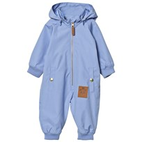 Mini Rodini Pico Coverall Light Blue Light Blue
