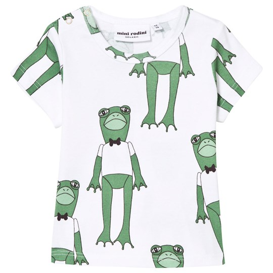 Mini Rodini Frogs Tee Green Green