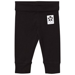Mini Rodini Basic Newborn Leggings Black